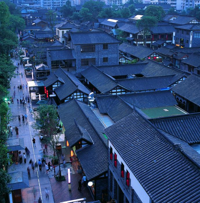 Long-term impact – Winner: Historical and Cultural Conservation Area of Kuan-Zhai-Xiang-Zi Alleys, Chengdu, China, 2008 – Project Design: LIU Boying, HUANG Jing, GU Hongying, GONG Jian/Beijing AN-DESIGN Architects