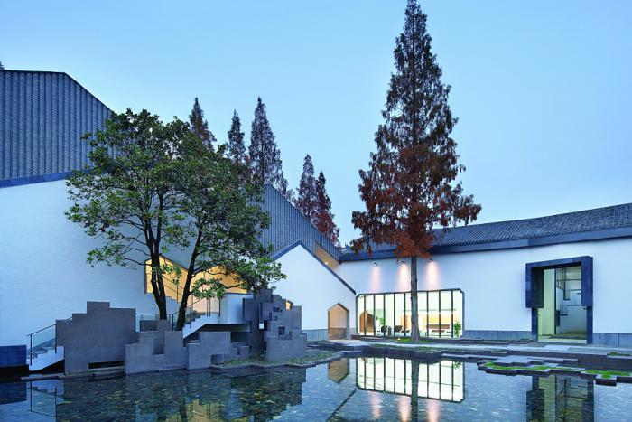 Jixi Museum, Jixi, China, 2013  Project Design: LI Xinggang, ZHANG Yinxuan, ZHANG Zhe, XING Di/China Architecture Design Institute Co., Ltd.