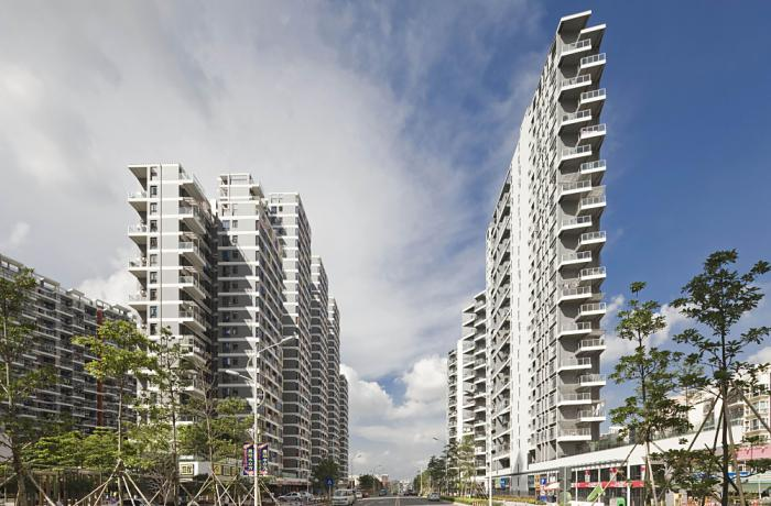 Highly Commended: Gemdale Meilong City Shenzhen Phase 4, Shenzhen, China, 2012 Project Design: CHEN Ling, Knud Rossen, WU Gang, ZHANG Ying/WSP Architects