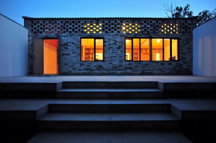 Ban House, Heyang, China, 2013 Project Design: ZHANG Dongguang, LIU Wenjuan