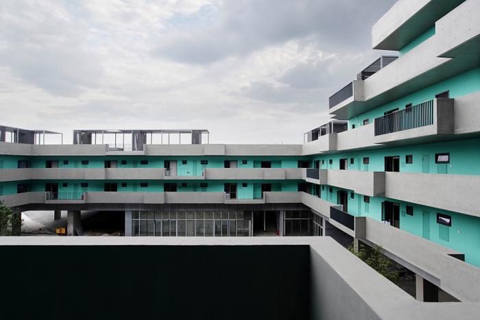 Winner: Stepped Courtyards, Fuzhou, China, 2013 Project Design: LI Hu, HUANG Wenjing/OPEN Architecture